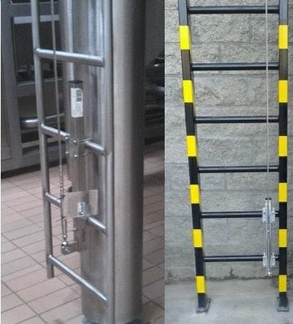 Lineas de vida verticales certificadas instalaci n for Escaleras portatiles certificadas